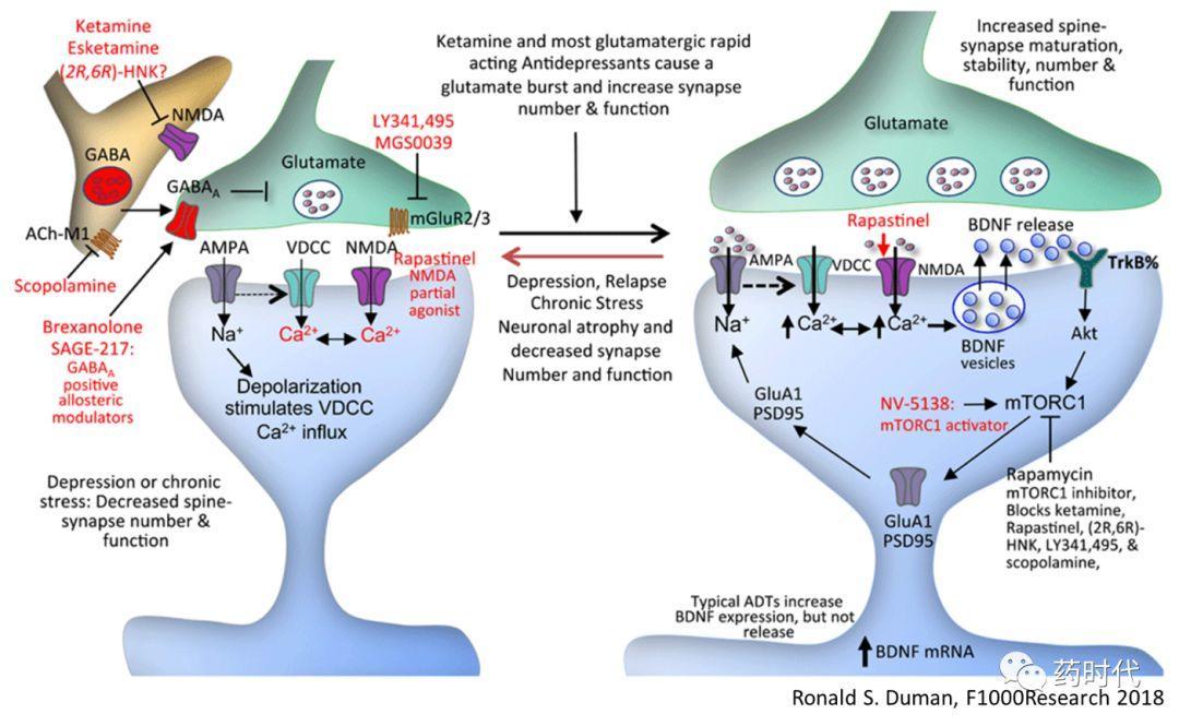 抗抑郁新药氯胺酮研发最新进展浅析