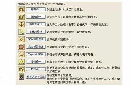 DOE工具5——JMP篇-1(DOE系列之七)