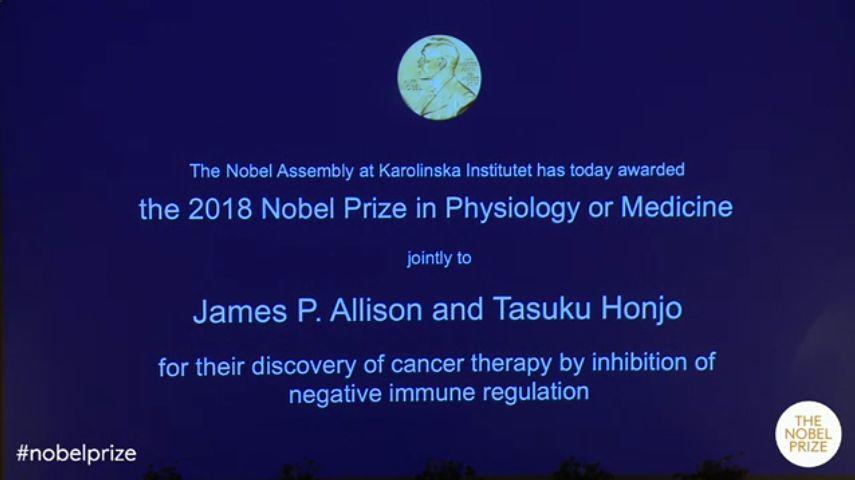 快讯!2019年诺贝尔生理学或医学奖揭晓!三位科学家获得殊荣!