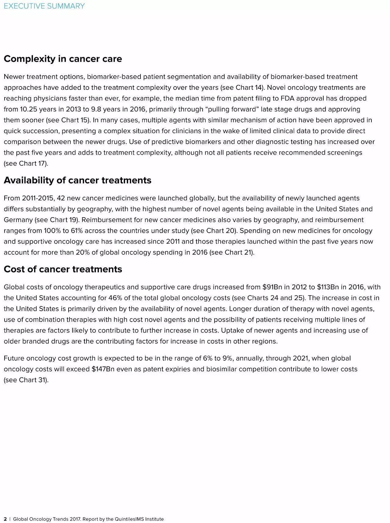 2017年全球肿瘤学趋势(Global Oncology Trends 2017)