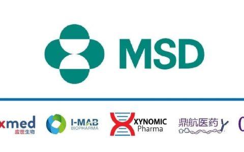 这些年与默沙东K药联合开发的中国公司