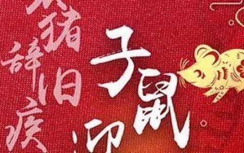 药时代恭贺新春!——亥猪辞旧疾 子鼠迎新药!