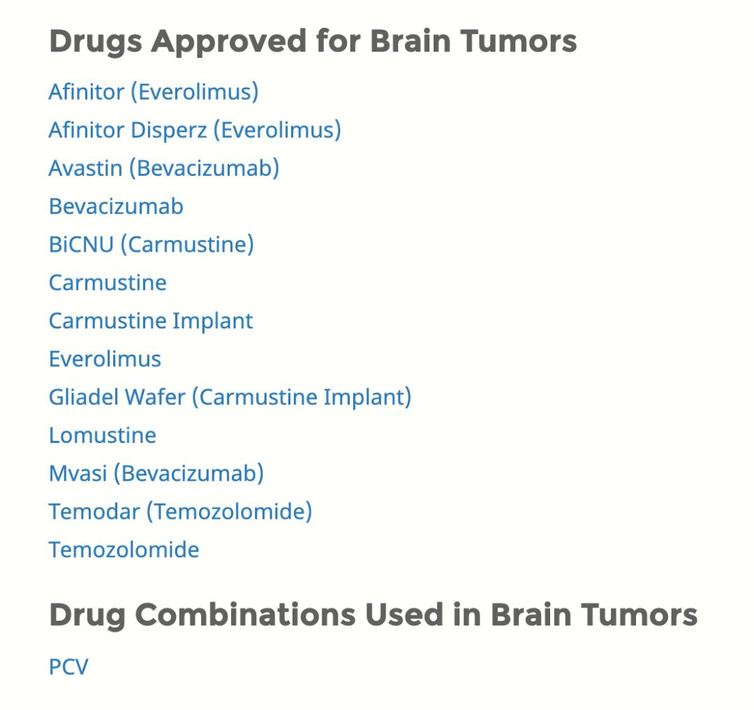融资频发临床进展迅速,脑肿瘤小分子药物迎来爆发期丨纵横梳理 