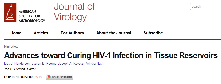 JVI综述:艾滋病治疗进展与展望