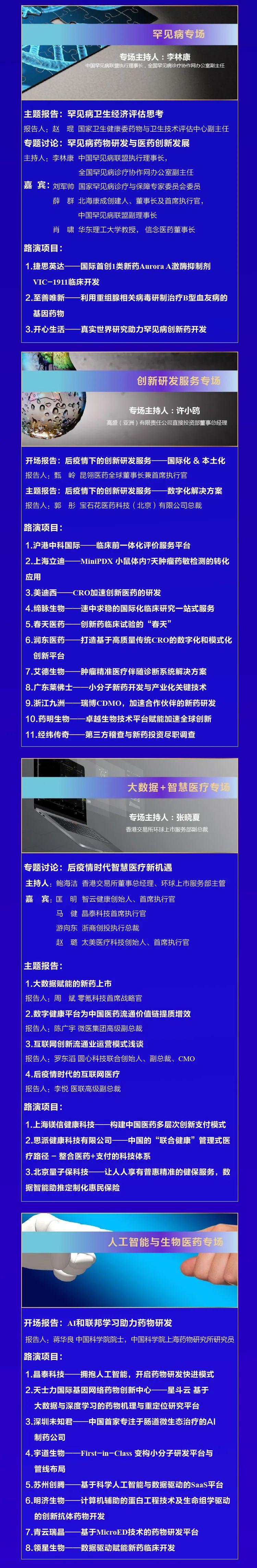 第五届中国医药创新与投资大会开幕式日程 | 大咖云集,华章再谱