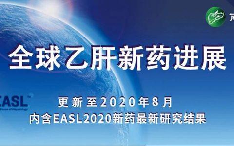 全球乙肝新药进展(内含EASL2020新药最新研究结果)