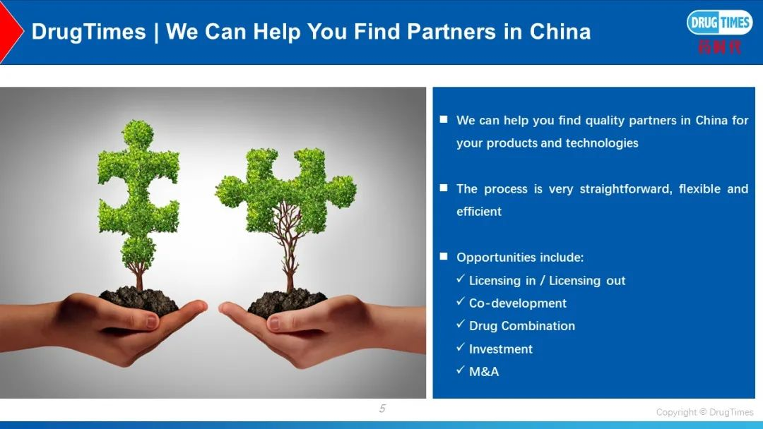 DrugTimes, We Help You Find Partners in China!