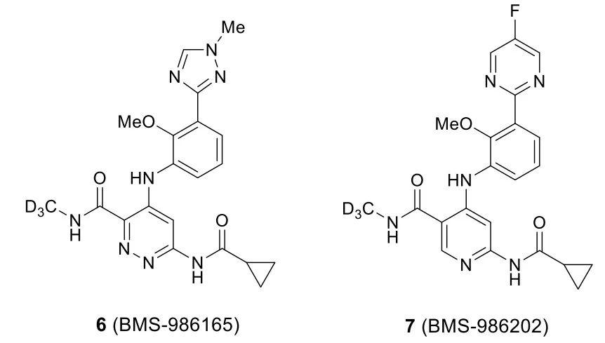 百时美施贵宝临床I期Tyk2抑制剂BMS-986202的发现
