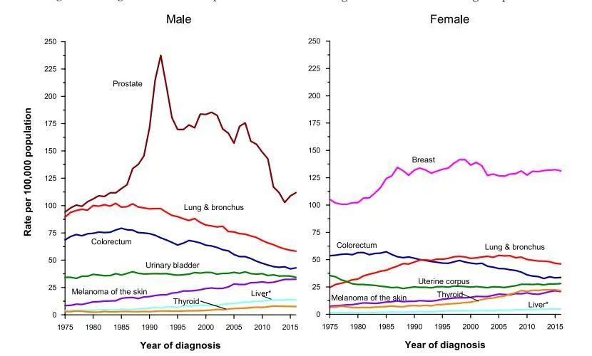 """020美国癌症数据:死亡率下降29%,带给我们什么启示?"""""""