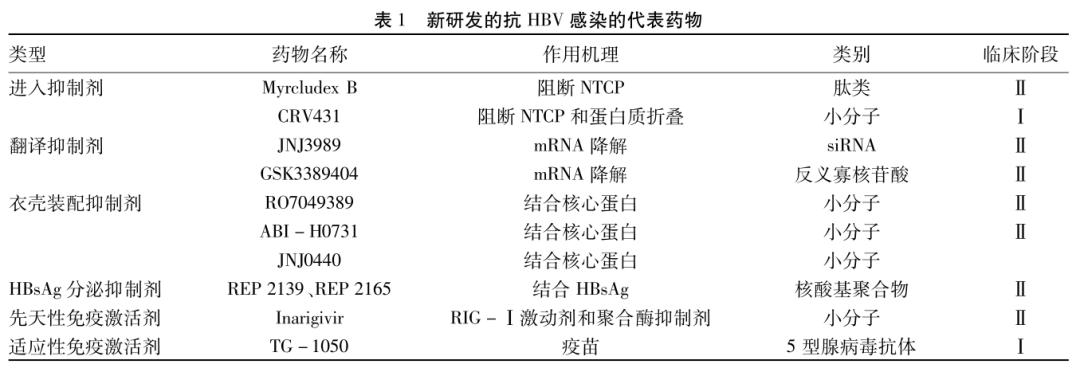 靶向cccDNA抗HBV治疗策略与前景