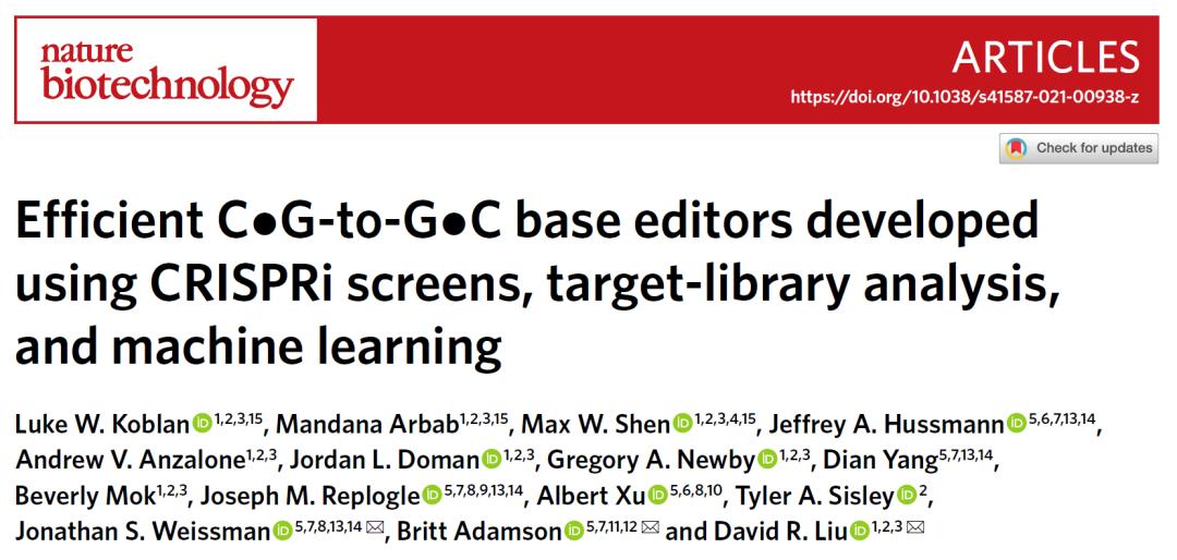 刘如谦全面升级单碱基编辑器,补齐单碱基编辑短板,为更多遗传病治疗带来新工具
