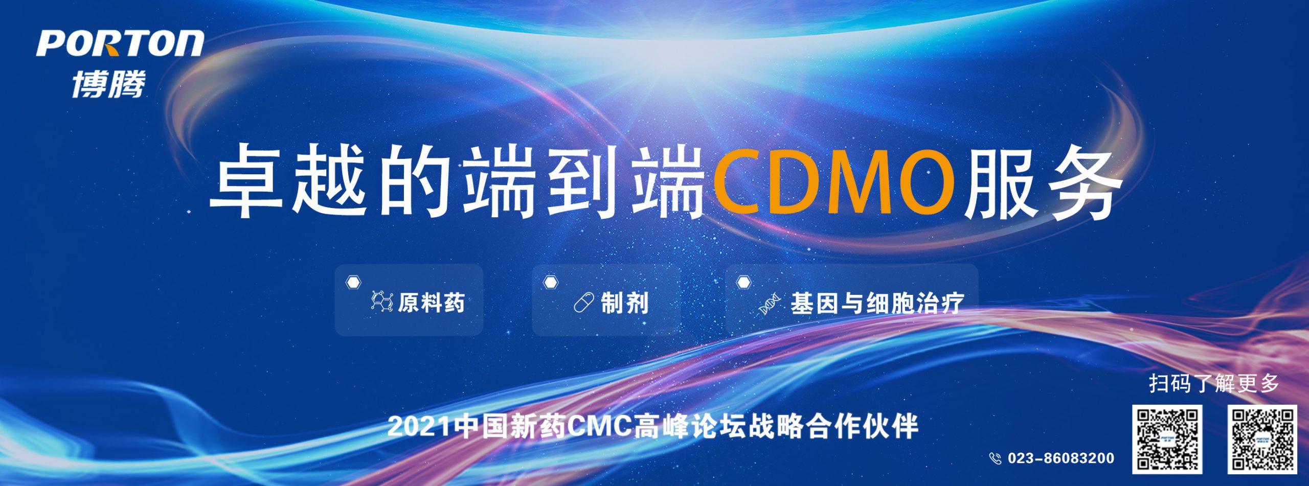 卓越的端到端CDMO服务