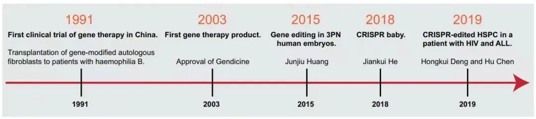 中国基因治疗发展概况!