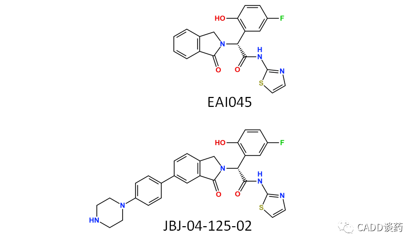 C4公司EGFR降解剂(基于结构)浅析