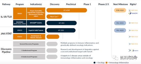 """靶向蛋白质降解剂""""四驾马车""""2021 H1半年报总结及研发管线分析"""