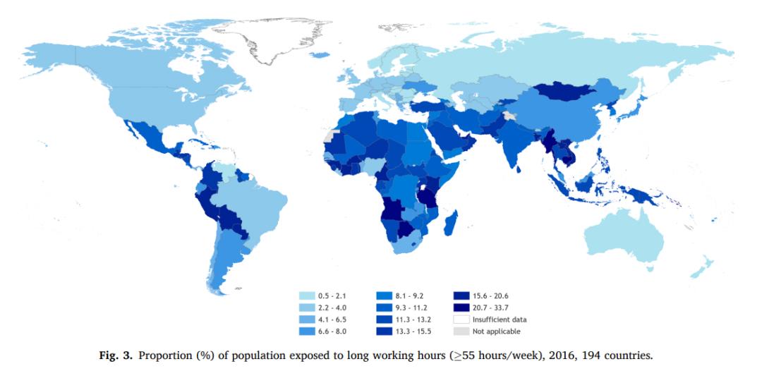每年75万人死于加班,WHO研究揭示每周工作超过55小时,严重危害健康