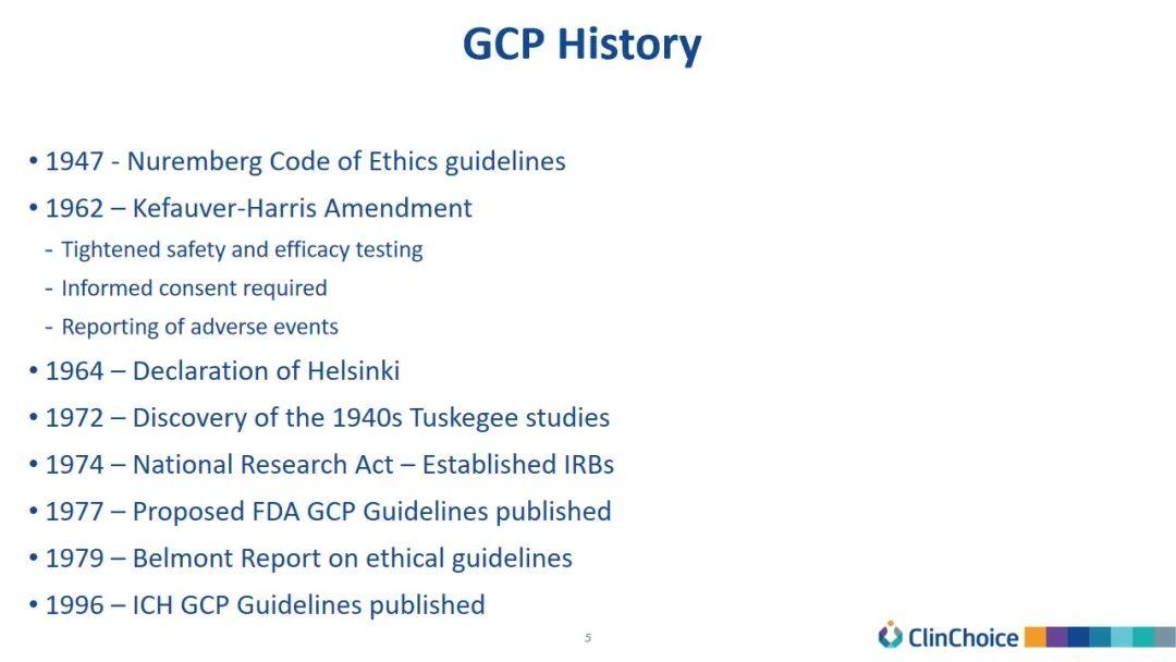 纵观GCP过往,寻求药物开发的未来立足点